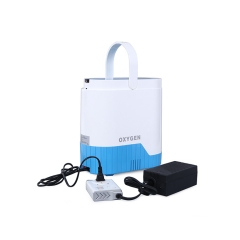 Easy Operation Medical Mini Portable Battery Operated Oxygen Concentrator Machine For Sales