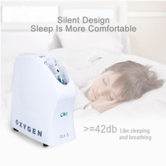 Small Home Oxygen Concentrator Portable Oxygen Breathing Machine For Pneumonia Patients