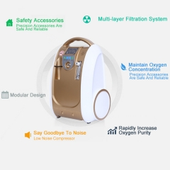220v / 110v Compact 1l-5l Portable Medical Oxygen Concentrator