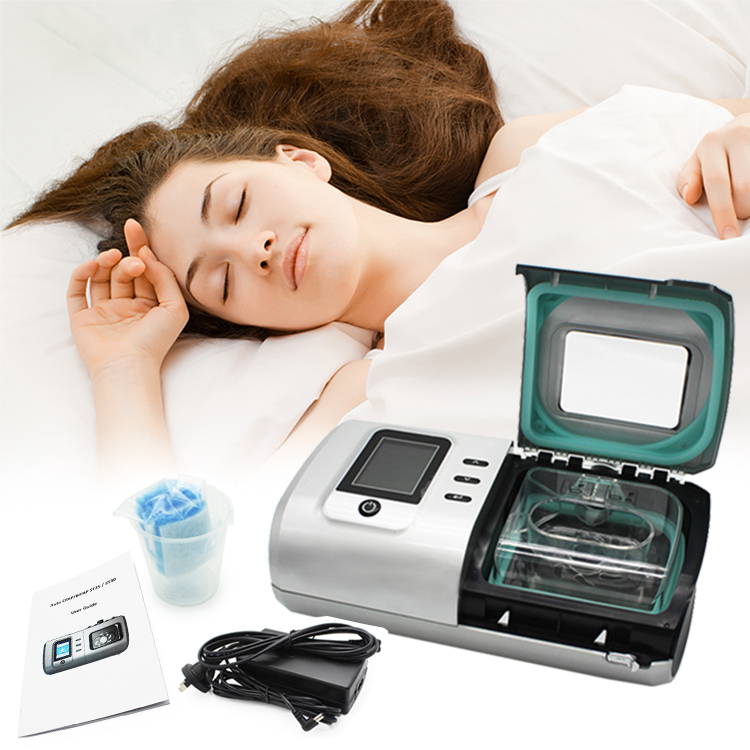 Treat Sleep Apnea Non-invasive Portable Medical Cpap Machine Travel With Humidifier And Sd Card