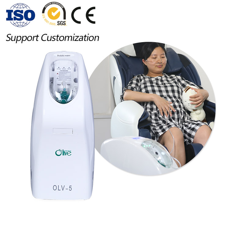 Olive Ce Iso Medical Use 5l 93 High Purity Home Oxygen Concentrator