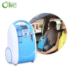Intelligent Portable Car Oxygen Concentrator Adjustable Flow Sustained Oxygen Supply