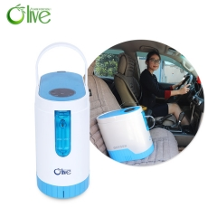 Health Care 5l Mobile Car Oxygen Concentrator 5KG Output Pressure 40Kpa - 60Kpa